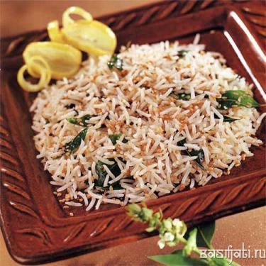 Til Aur Curry Patta Bhat
